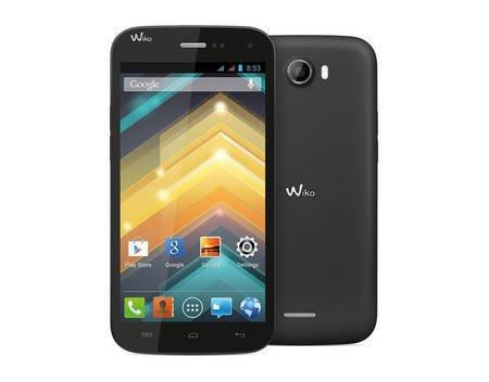 """Wiko Barry, Smartphone, Schwarz, 3G HSPA+, 1,3GHz,  4 GB, 5"""" TFT, GSM, Android Phone für 89,00€ @ MeinPaket"""