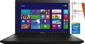 Lenovo G710 17,3 Zoll, i7, 8GB RAM, 1TB HDD + 8GB SSD, Windows 8.1 , Office 365 639,99