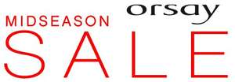 Orsay Midseason Sale - bis 50 %