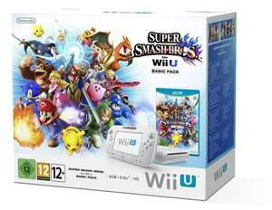 Nintendo Wii U 8GB + Super Smash Bros. [amazon fr]