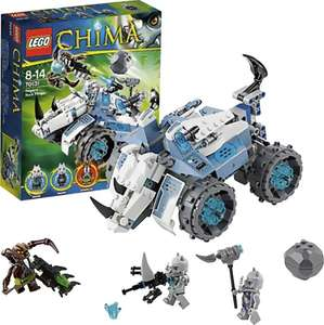 Lego Legends of Chima - Rogons Nashorn-Cruiser für 19,99€