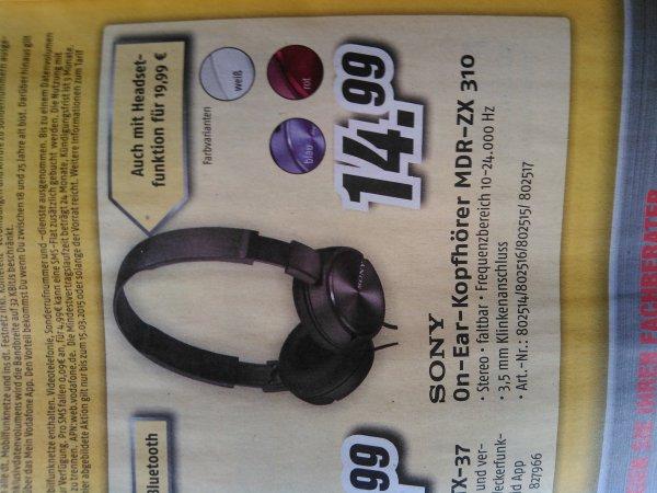 {Medimax/offline} Sony mdr-zx 310