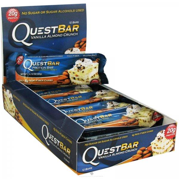 (bodylab24.de) Questbars Vanilla almond crunch (und andere)