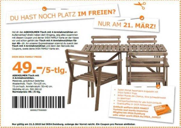[lokal] IKEA Duisburg - Geburtstagsangebote 21.03. Family-Mitglieder