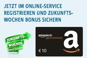 10€ Amazon Gutschein Gratis für Süwag Kunden