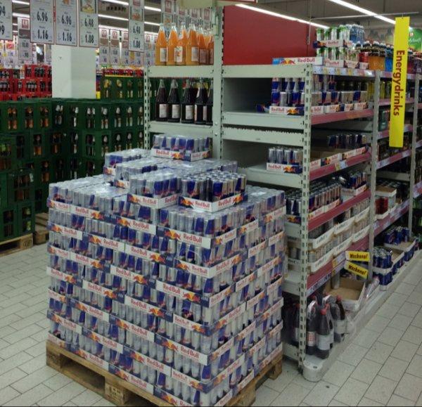 Red Bull - Lokal kaufland aschaffenburg