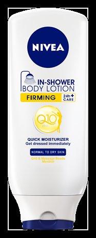 Nivea In-Dusch Q10 Gratisprobe solange der Vorrat reicht