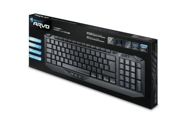 "Roccat™ - Compact Gaming Tastatur ""Arvo"" (USB) [B-Ware] ab €22,45 [@MeinPaket.de]"