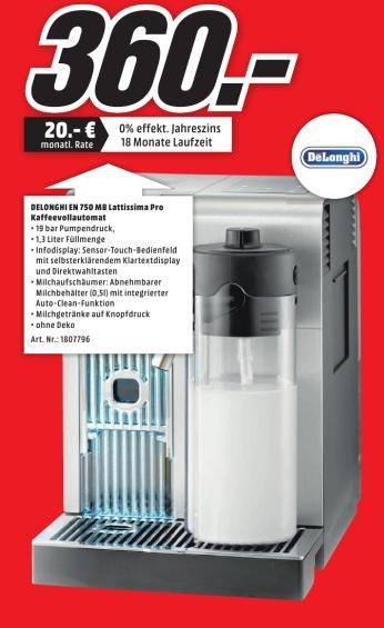 [MM Mülheim] DeLonghi EN750.MB Lattissima Pro (Nespresso System)