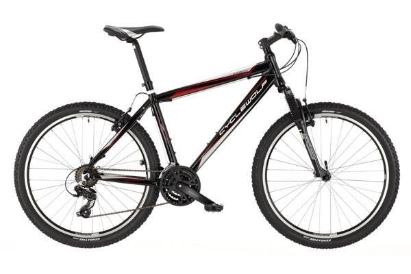CYCLEWOLF Karok MTB 26 Zoll Fahrrad Modell 2013 in schwarz für 199€ zzgl. 35€ Versand @Jehle Bikes
