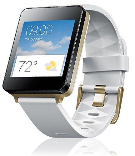 "LG G Watch ""W100"" weiß für 89€ @ Redcoon- 1,2-GHz-Qualcomm-Prozessor, 4GB, micro-USB, Bluetooth 4.0"