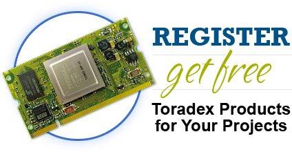 Toradex kostenlose Produktmuster