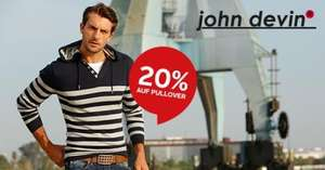 OTTO - 20% auf alle John Devin Pullover
