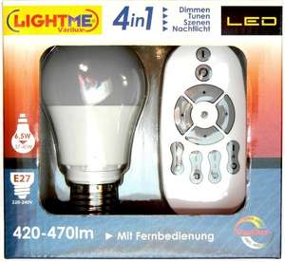 ELV (Preisfehler?): LightMe-Varilux- LED - Lampe m. Fernbedienung für 14,95 € + Versand