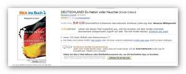Kostenloses Kindle E-Book bei Amazon:Deutschland!Du Nation voller Heuchler