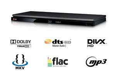 Blu-ray-Player - LG BP430 DLNA-fähig, 3D ready, schwarz - 69,98€