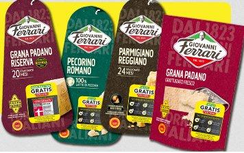 4 Packungen Giovanni Ferrari Käse (~12 €) GRATIS testen bis 30.06.2015