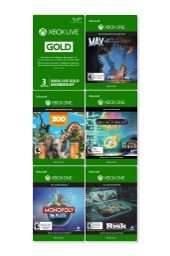 [Amazon.com] Xbox One Family Fun Pack (5 Spiele + 3 Monate Xbox Live Gold)