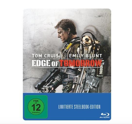 Steelbooks (Blu-ray) für je 7,90€ z.B. Edge of Tomorrow @Media Markt