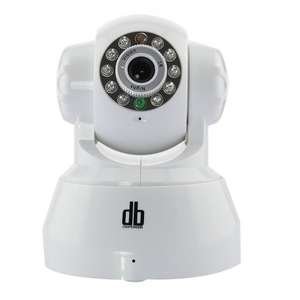 [Amazon] DbPower Pan Tilt WLAN IP Kamera Überwachungskamera mit Zwei-Wege Audio, Alarm Ausgang, Alarm per Email, FTP weiß 29,98 Euro