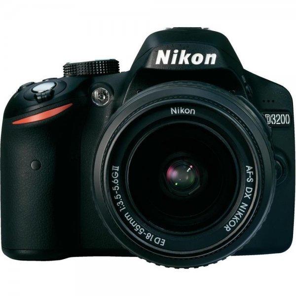 Digitale Spiegelreflexkamera Nikon D3200, 24.2 Mio. Pixel, Full HD