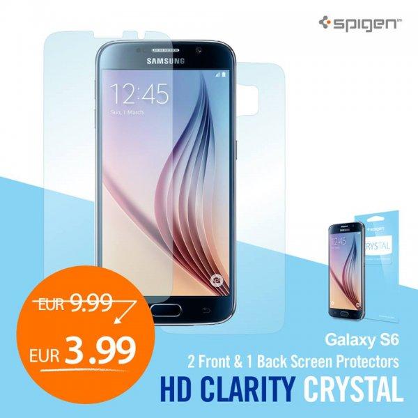 Schutzfolie fürs Galaxy S6, 3,99 Euro bei Amazon