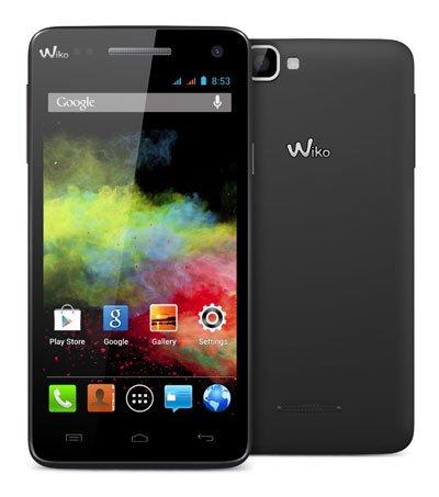 Conrad B: Wiko Rainbow Smartphone, 1 GB / 4 GB schwarz (5 Zoll), Dual-SIM