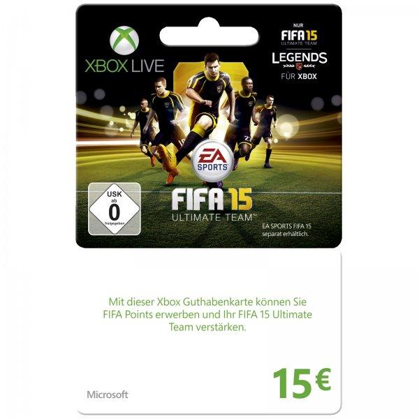 [notebooksbilliger.de] Xbox Live Guthaben 15€ für 10€