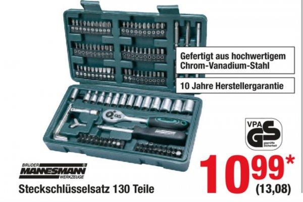 Mannesmann Steckschlüsselsatz 130-teilig bei Metro offline ab 19.03.2015 für 13,08 Euro. Idealo ab 20 Euro inkl. Versand