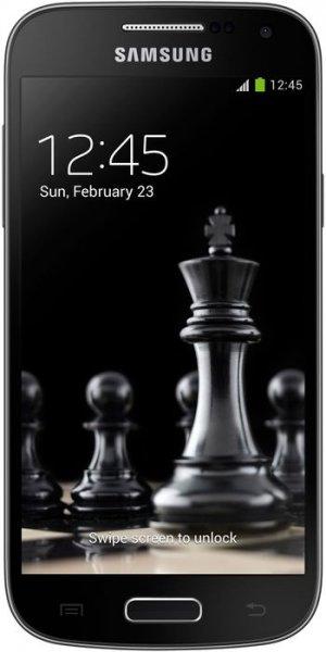 Samsung Galaxy S4 mini Black Edition (die schickere S4 mini Version) - 4,3'' / 1,5 GB RAM / 8 GB Flash (erweiterbar) / 960 x 540 px AMOLED / Snapdragon 400 / 1900 mAh Akku / LTE für 179,90 €