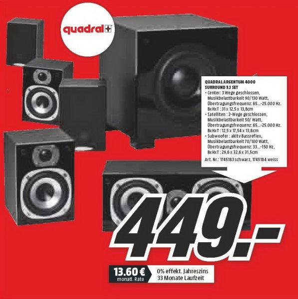 [Exklusiv für myDealz] Quadral Argentum 4000, Denon AVR X3100, TOMTOM Via 135 M, Logitech X300, Logitech UE Boom im Mediamarkt Braunschweig
