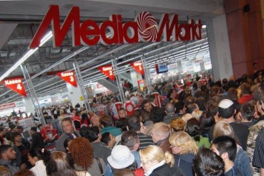 Große Neueröffnung Media Markt Neu-Ulm mit guten Schnäppchen