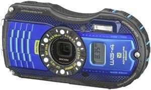 Ricoh Outdoor-Kamera WG-4 GPS blau
