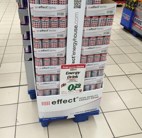 Effect Energy 0,29€/0,5L Dose/Marktkauf Weil am Rhein