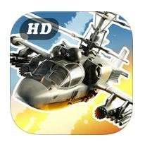 CHAOS Combat Copters HD (iOS) Multiplayer Helicopter Simulator Kostenlos