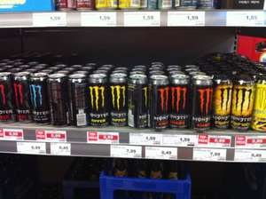 Monster Energy alle Sorten 0,99 € edeka