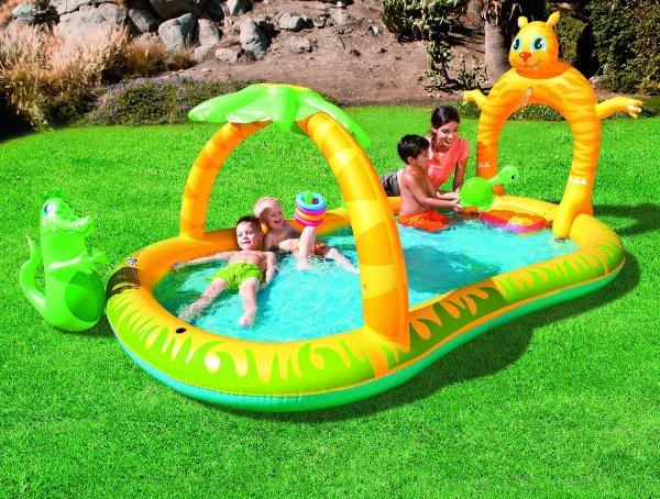 [Amazon] Bestway 53030 – Kinder-Pool-Landschaft Dschungel Safari ab 19,33 € (44,99 € Idealo)