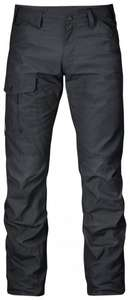 [pm-outdoor] Fjällräven Nils Trousers Men dark grey 50 hej då