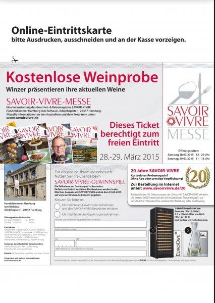 Savoir Vivre Weinmesse in Hamburg (28./29.03.)