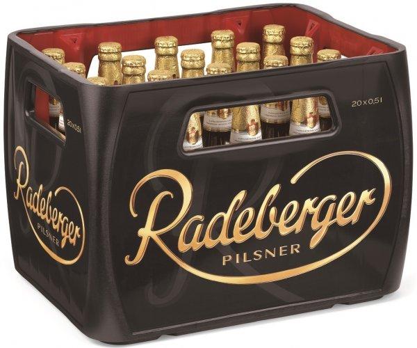 Kasten Radeberger (20 x 0,5l) für 8,99€ anstatt 13,80€ + Pfand im Netto von Donnerstag bis Samstag!