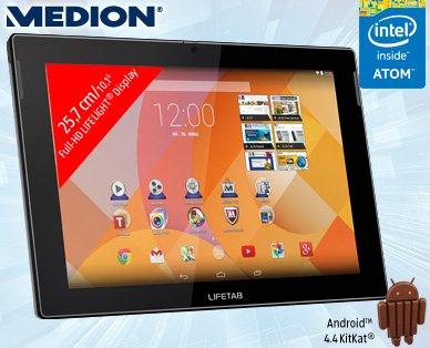 [Aldi-Süd] Medion Lifetab S10346 (MD 98992) 10,1 Zoll Tablet, IPS, INTEL ATOM bis zu 1.83 GHz, 2GB, INFRAROT ab dem 26.3 für 199€