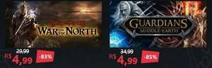 STEAM - Guardians of Middle-Earth / Lord of the Rings: War in the North / GTA 4 je ~1 ,50€ @ Nuuvem