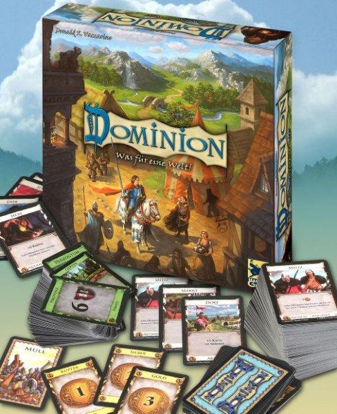 [Thalia] Dominion Basisspiel für 19,35€ = 16% Ersparnis *** Dominion Mixbox (Reiche Ernte + Alchemisten) für 20,23€ = 24% Ersparnis