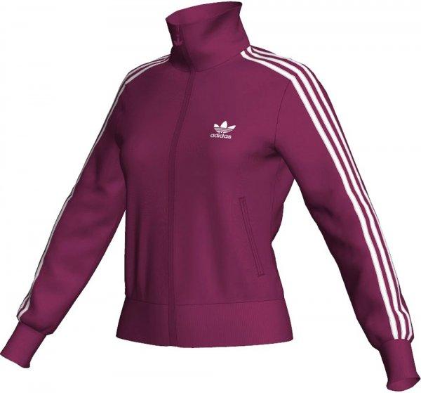 adidas Damen Sweatjacke Firebird TT Pink/Weiss @ cortexpower.de