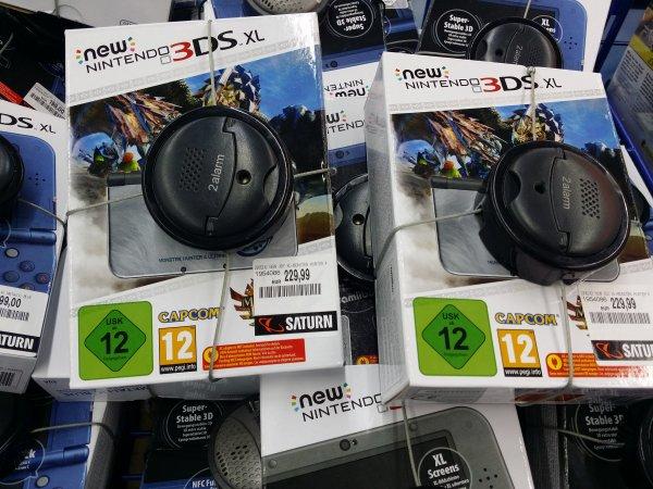 [Lokal Stuttgart SATURN] new nintendo 3ds xl Monster hunter 4 limited edition