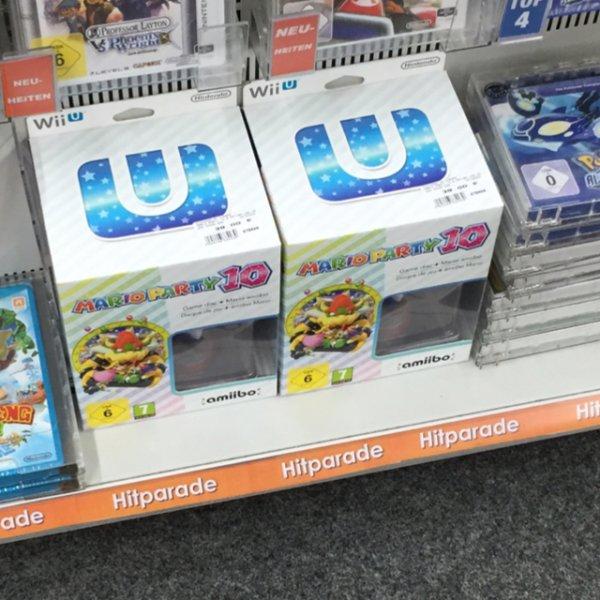 [Lokal Expert Backnang] Wii U - Mario Party 10 + Amiibo 39€