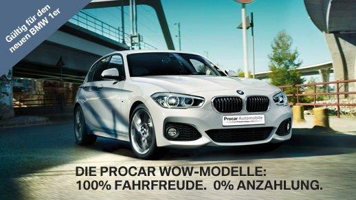 (BMW Procar Leasing) BMW 116i 2015 5-Türer, 36 Monate = insg. 7004€