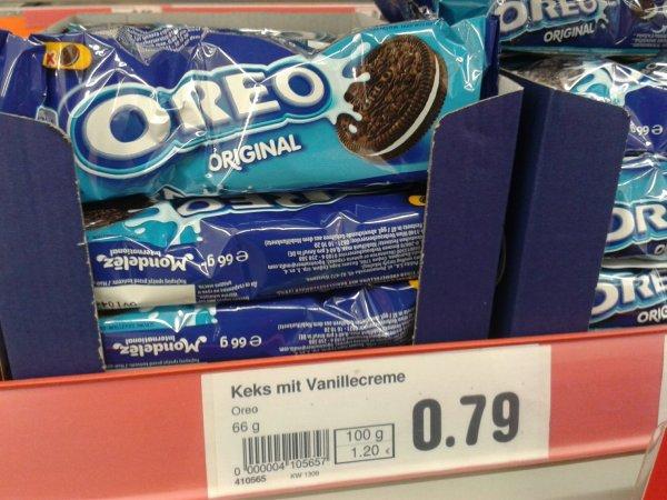[reebate/Netto MD] Oreo Kekse, Beutel (66g) gratis (0,21 € Gewinn!)