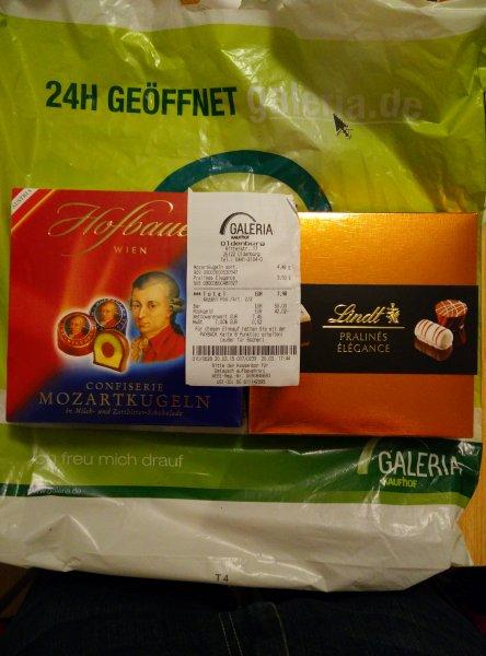 [lokal Oldenburg(Oldb)] Verschiedenste Edelschokolade - 50% Kaufhof