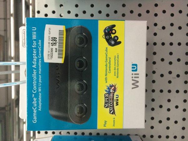[MM München Einstein] Nintendo WiiU Gamecube Controller Adapter 20€